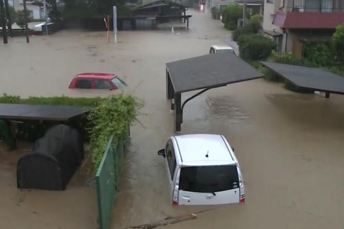 Japonya'da sel: 13 kişi kayıp