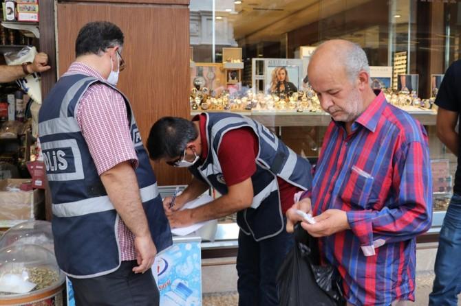 Gaziantep'te para cezası yiyen şahıs maskesini takmadı