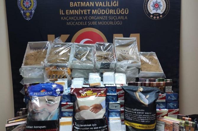 Batman'da kaçakçılık yaptıkları iddiasıyla 17 şüpheli gözaltına alındı
