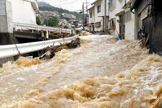 Japonya'da sel: 16 ölü, çok sayıda kayıp
