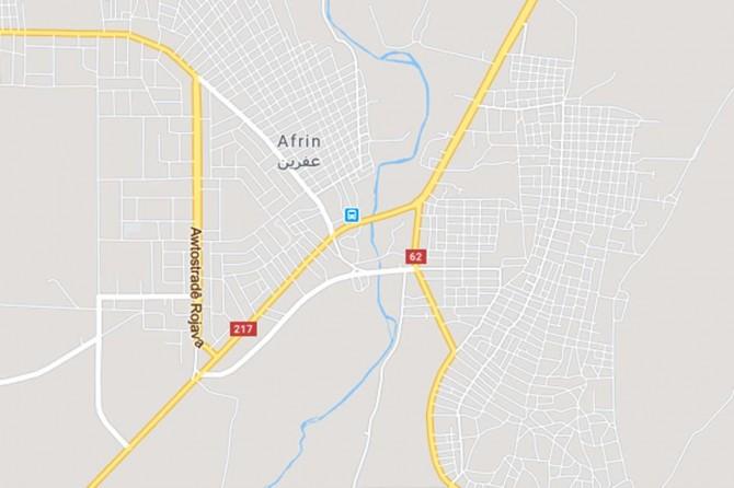 Afrin'de araç geçişi sırasında patlama: 2 kişi hayatını kaybetti