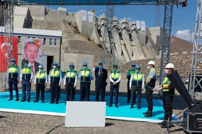 Bingöl'deki HES barajlarında enerji üretimine başlandı