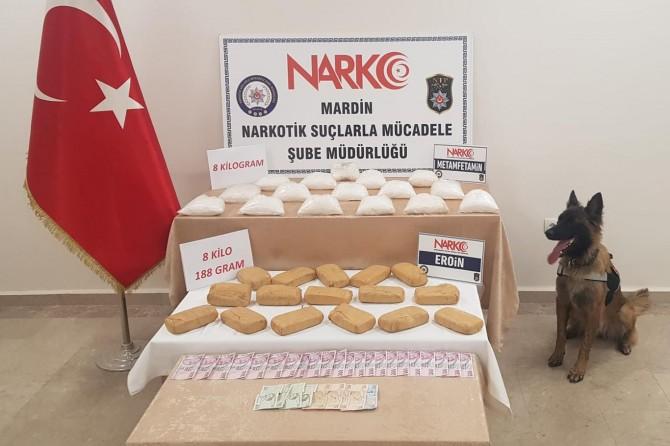 Kızıltepe'de uyuşturucu madde ele geçirildi