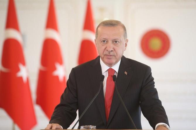 Cumhurbaşkanı Erdoğan Kırgızistan ve Kazakistanlı mevkidaşlarıyla görüştü