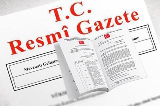 Atama kararları Resmî Gazete'de yayımlandı