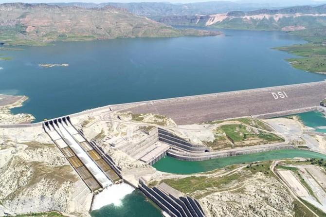 DSİ: Ilısu Veysel Eroğlu Barajı'nda 3'üncü türbin devreye girdi