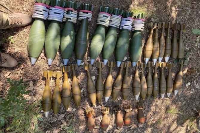 Pençe-Kaplan Operasyonu'nda yeni silah ve mühimmatlar ele geçirildi