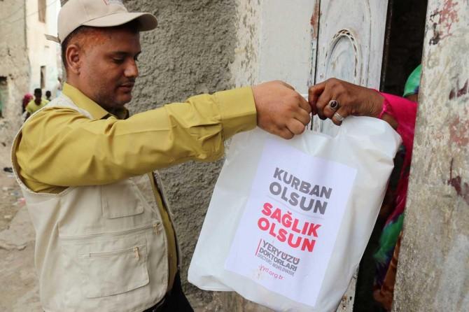 Yeryüzü Doktorları kurban bağışı için kampanya başlattı