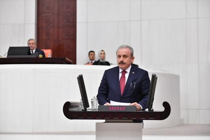 AK Parti Tekirdağ Milletvekili Şentop TBMM Başkanlığına yeniden seçildi