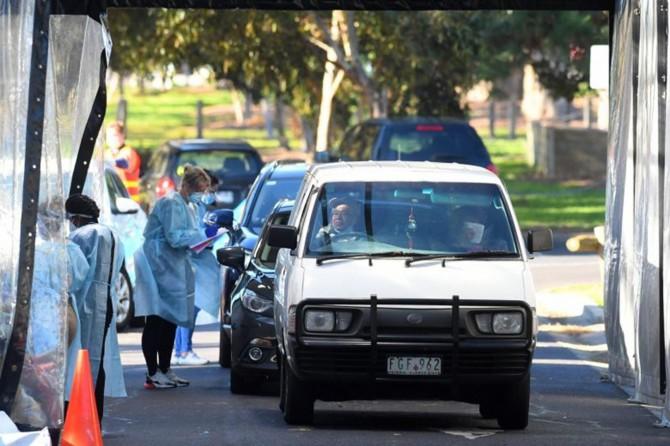 Vaka sayısındaki artıştan dolayı Avustralya'nın Melbourne kenti yeniden karantinaya alındı