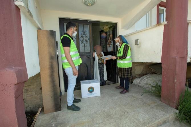 Van'ın İpekyolu Belediyesinden ihtiyaç sahiplerine sosyal yardım