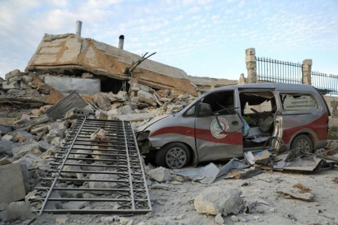BM: Suriye rejimi ve Rusya sivilleri katlederek savaş suçu işledi