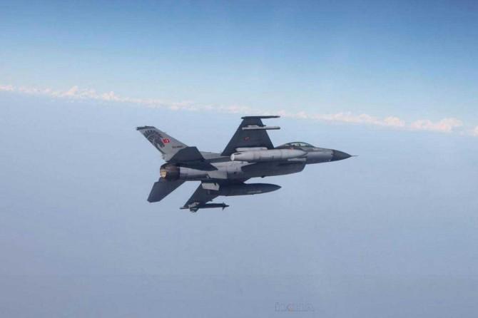Irak'ın kuzeyinde PKK'ye yönelik hava harekâtı düzenlendi