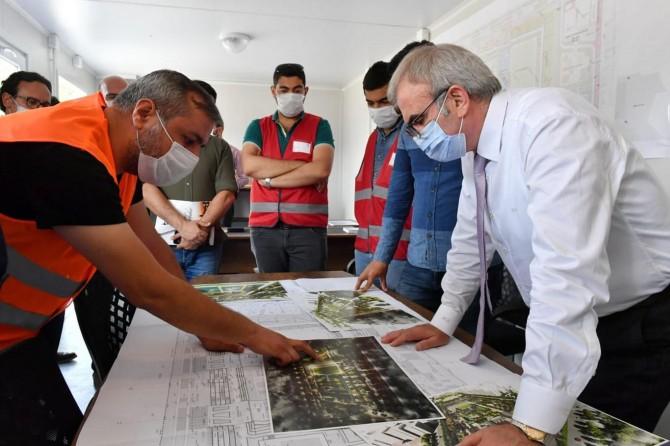 Diyarbakır'da yapılan Millet Bahçeleri kentin tarihini yansıtacak