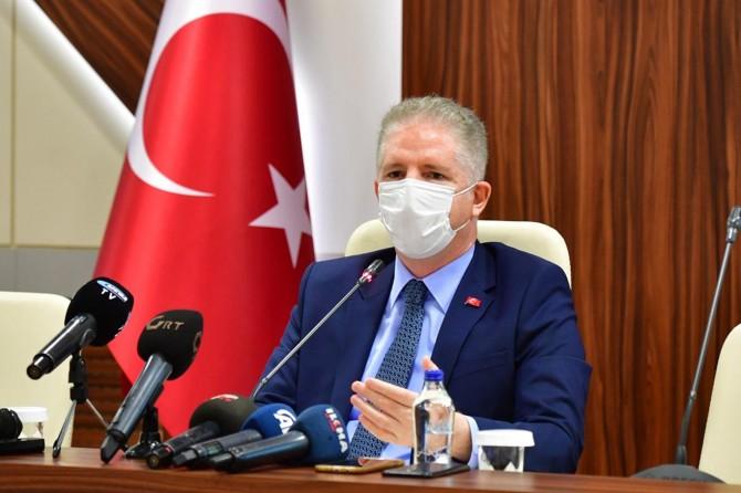 """Gaziantep Valisi Gül: """"Suriyelilerde vaka sayısı sıfıra yakın"""""""
