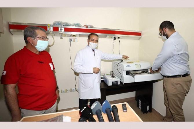 Türkiye'nin üçüncü plazma üretim sistemi Gaziantep'te kuruldu