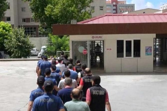Gaziantep'te restoranı silahla basan 7 kişi tutuklandı