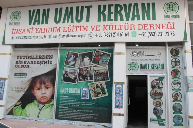 """Van Umut Kervanı'ndan, """"Kurbanlarınızla Fakirlere Umut Olalım"""" çağrısı"""