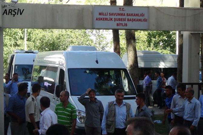 Bitlis'te Covid-19 salgını nedeniyle asker uğurlamasına kısıtlama getirildi