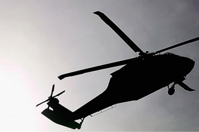 Bingöl'de askerleri taşıyan helikopter zorunlu iniş yaptı