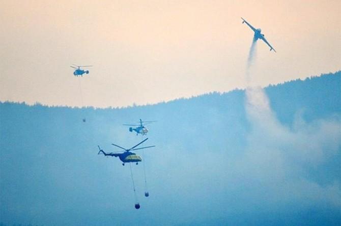 Gelibolu yangınında ilk kez İHA ve termal dronlar kullanıldı