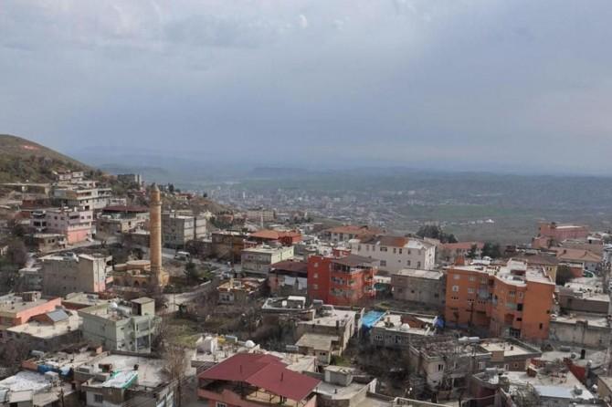 Batman Kozluk'ta 4 bina karantinaya alındı