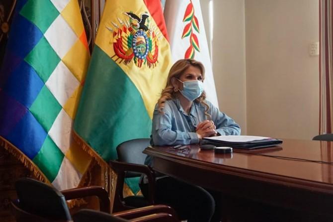 Bolivya Devlet Başkanı Anez Coronavirus'e yakalandı