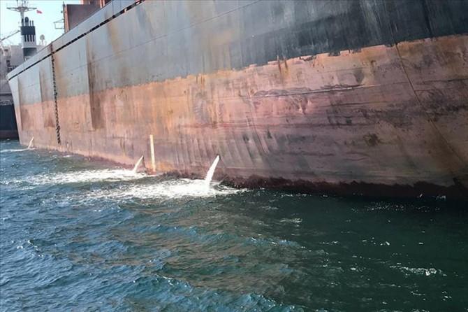 Gemilerden kaynaklı atıklar sıkı takip altına alındı