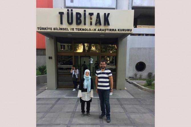 Adıyaman TOBB Altınşehir Proje Kız İmam Hatip Lisesi TÜBİTAK'ta üçüncü oldu