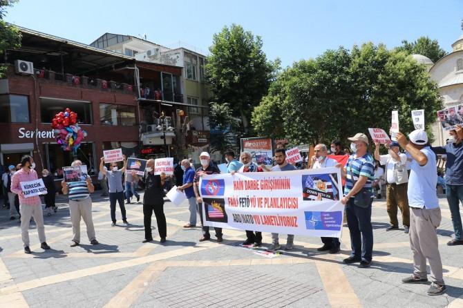 Malatya'da FETÖ'nün darbe girişimi ve ABD ile NATO üsleri protesto edildi