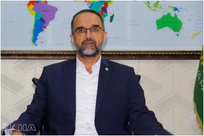 HÜDA PAR Genel Başkanı Sağlam'dan Ayasofya Camii açıklaması