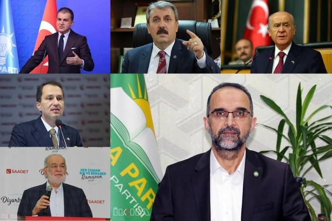 Siyasi parti liderlerinden Ayasofya Camii açıklaması