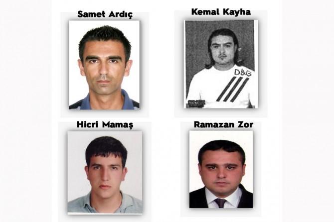 Kırmızı bültenle aranan 4 suçlu Türkiye'ye iade edildi