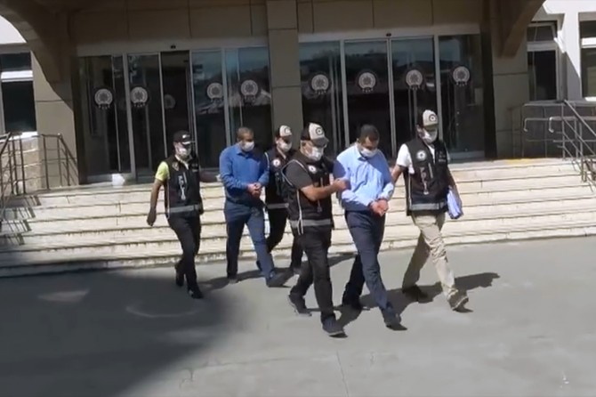 Gaziantep'te tefeci operasyonunda 2 kişi tutuklandı