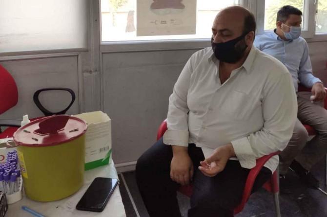 HÜDA PAR Cizre İlçe Teşkilatı'ndan kan bağışı