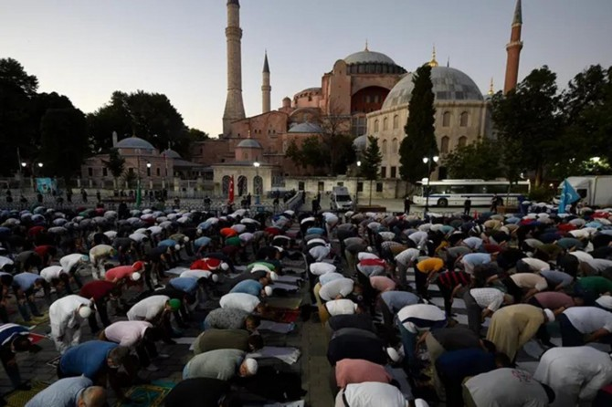 Ayasofya Camii'nin ibadete açılmasının dünya basınındaki yankıları