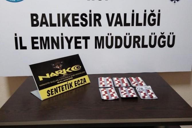 Balıkesir'de uyuşturucu operasyonu: 3 gözaltı