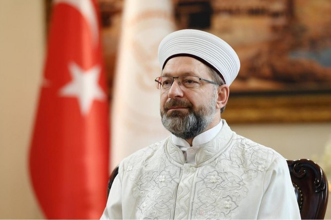 Diyanet İşleri Başkanı Erbaş, Ayasofya Camii'nin yeniden ibadete açılmasını değerlendirdi