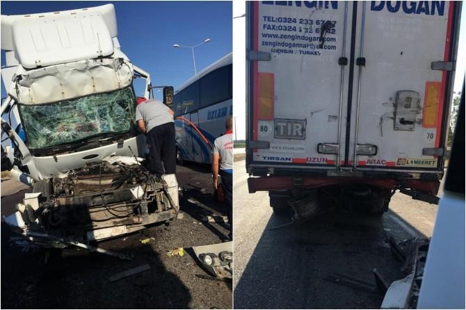 Bismil'de kaza: 1 yaralı