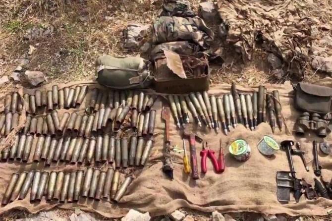 PKK'ye ait EYP deposu olarak kullanılan sığınak bulundu