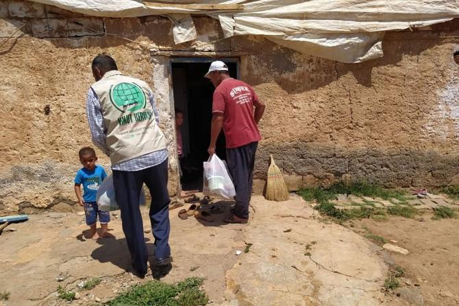 Umut Kervanı, Viranşehir ilçesinde 127 aileye yardımda bulundu