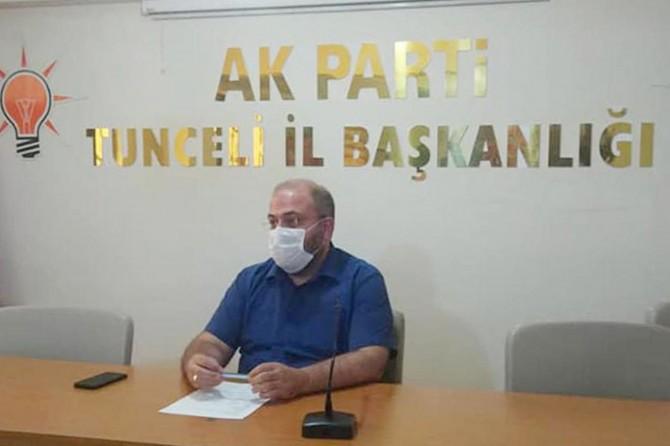 AK Parti Tunceli İl Başkanı trafik kazası geçirdi