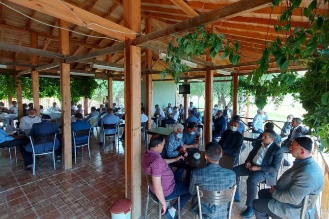 Solhan aşireti aile büyüklerinin buluşması programı