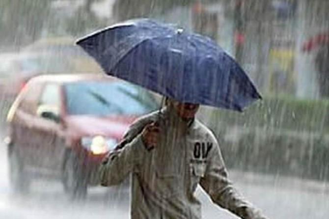 Doğu Anadolu'nun doğusunda yerel kuvvetli yağışlar bekleniyor