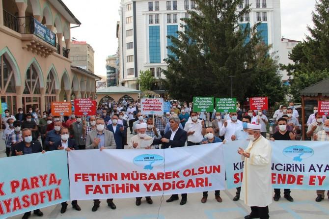 """Van SDİ: """"Ayasofya Camisi'nin yeniden ibadette açılması memnuniyet vericidir"""""""