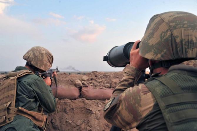 Sınır ötesinde 4 PKK'li gözaltına alındı