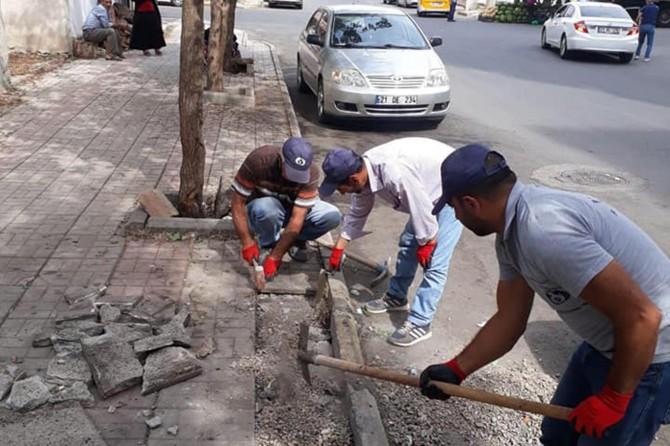 20 yıl sonra hizmetle tanışan Bağlar sokakları göz kamaştırıyor