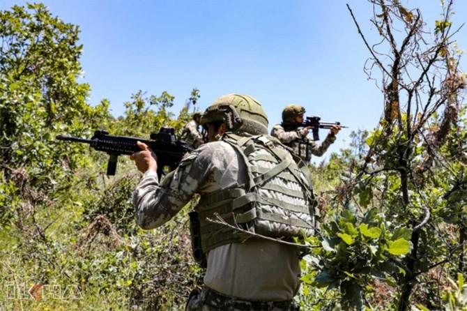 Li Şirnexê 4 PKKyî teslîm bûn