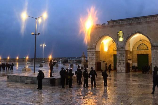 Hamas: Siyonist işgal rejiminin Mescidi Aksa'ya el uzatması savaşın fitilini ateşler