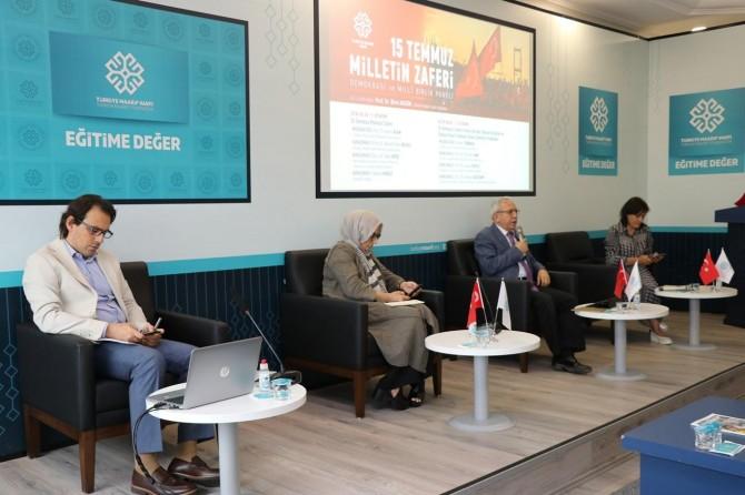 """Türkiye Maarif Vakfı: """"FETÖ'nün ülkeyi ele geçirmek istediği 15 Temmuz gecesi anlaşıldı"""""""